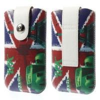 Чехол-футляр для смартфона UK Flag and Eiffel Tower