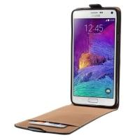 Down Flip чехол для Samsung Galaxy Note 4 черный