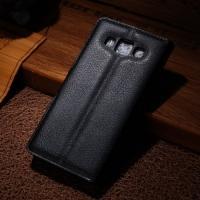 Чехол книжка для Samsung Galaxy A5, Galaxy A5 Duos - Чёрный
