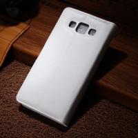 Чехол книжка для Samsung Galaxy A5, Galaxy A5 Duos - белый