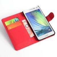 Чехол книжка для Samsung Galaxy A5, Galaxy A5 Duos - Красный