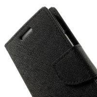 Flip чехол книжка для Samsung Galaxy A3 черный