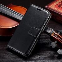 Чехол книжка для Samsung Galaxy A3, Galaxy A3 Duos - Чёрный
