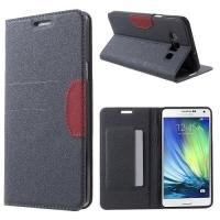 Flip чехол книжка для Samsung Galaxy A7 серый Mercury CaseOn