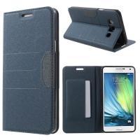 Flip чехол книжка для Samsung Galaxy A7 синий Mercury CaseOn