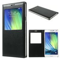 Чехол книжка для Samsung Galaxy A7, Galaxy A7 Duos с функцией активное окно