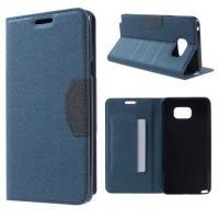 Flip чехол книжка для Samsung Galaxy Note 5 синий Mercury CaseOn