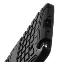 Гибридный противоударный чехол для Samsung Galaxy Note 4 - черный