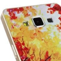 Металлический чехол для Samsung Galaxy A5 с орнаментом Autumn
