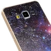 Металлический чехол для Samsung Galaxy A5 с орнаментом Space