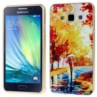 Металлический чехол для Samsung Galaxy A3 с орнаментом Autumn