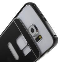 Металлический чехол для Samsung Galaxy S6 черный