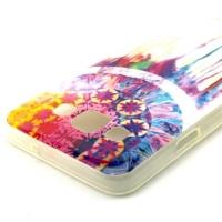 Силиконовый чехол для Samsung Galaxy A3, Galaxy A3 Duos - Colorful Dreamcatcher