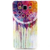 Силиконовый чехол для Samsung Galaxy A7, Galaxy A7 Duos - Colorful Dreamcatcher