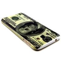 Силиконовый чехол для Samsung Galaxy A8 - Доллар