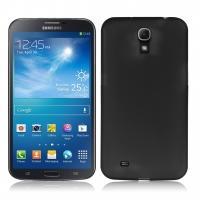 Ультратонкий пластиковый чехол для Samsung Galaxy Mega 6.3 черный