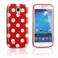 Силиконовый чехол для Samsung Galaxy S4 mini Red Bubble