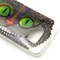 Силиконовый чехол для Samsung Galaxy S6 Чеширский Кот