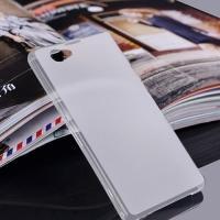Ультратонкий кейс чехол для Sony Xperia Z1 Compact белый