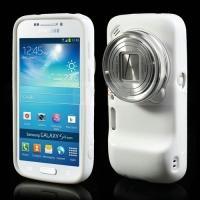Силиконовый чехол для Samsung Galaxy S4 Zoom белый