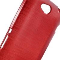 Силиконовый чехол для Sony Xperia C красный Shine