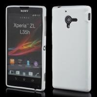Силиконовый чехол для Sony Xperia ZL белый