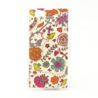Силиконовый чехол для Sony Xperia Z1 Compact Flowers&Birds
