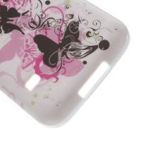 Силиконовый чехол для Samsung Galaxy S5 mini Rose Butterflies