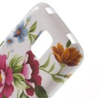 Силиконовый чехол для Samsung Galaxy S5 mini Rose Flower