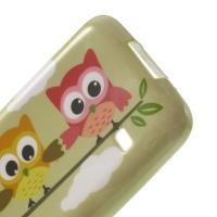 Силиконовый чехол для Samsung Galaxy S5 mini Owls On the Tree