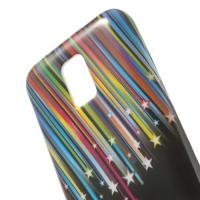 Силиконовый чехол для Samsung Galaxy S5 mini Shooting Stars