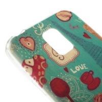 Силиконовый чехол для Samsung Galaxy S5 mini Romantic Paris