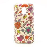 Силиконовый чехол для Samsung Galaxy S5 mini Flowers and Birds