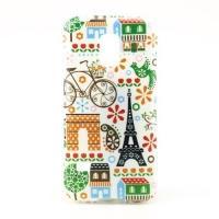 Силиконовый чехол для Samsung Galaxy S5 mini Funny Paris