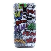 Силиконовый чехол для Samsung Galaxy S5 mini Graffiti