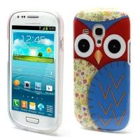 Силиконовый чехол для Samsung Galaxy S3 mini Red Owl