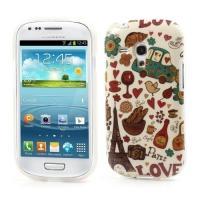 Силиконовый чехол для Samsung Galaxy S3 mini Paris