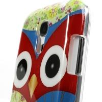 Силиконовый чехол для Samsung Galaxy S4 mini Owl Red