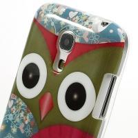 Силиконовый чехол для Samsung Galaxy S4 mini Owl Classic