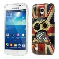 Силиконовый чехол для Samsung Galaxy S4 mini Owl Pirate & British Flag