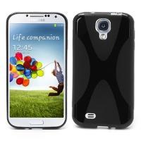 Силиконовый чехол для Samsung Galaxy S4 черный