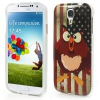 Силиконовый чехол для Samsung Galaxy S4 American Owl