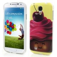 Силиконовый чехол для Samsung Galaxy S4 Cherry Cake