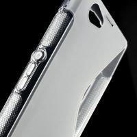 Силиконовый чехол для Sony Xperia Z1 Compact прозрачный S-shape