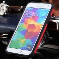 Противоударный гибридный чехол для Samsung Galaxy S5 Red Full