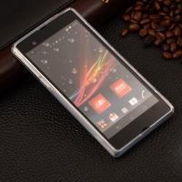 Силиконовый чехол для Sony Xperia Z S-образный прозрачный