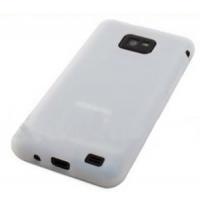 Силиконовый чехол для Samsung Galaxy S2 белый