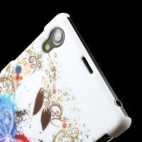 Кейс чехол для Sony Xperia Z1 с орнаментом Butterfly