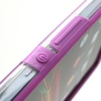 Бампер для Sony Xperia Z лиловый