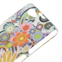 Кейс чехол для Sony Xperia Z1 Compact Colorful Flowers